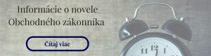 Obchodný zákonník | Prosman & Pavlovič