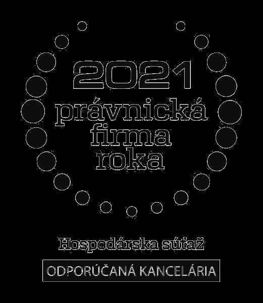 Právnicka firma roka 2021 – Hospodárska súťaž